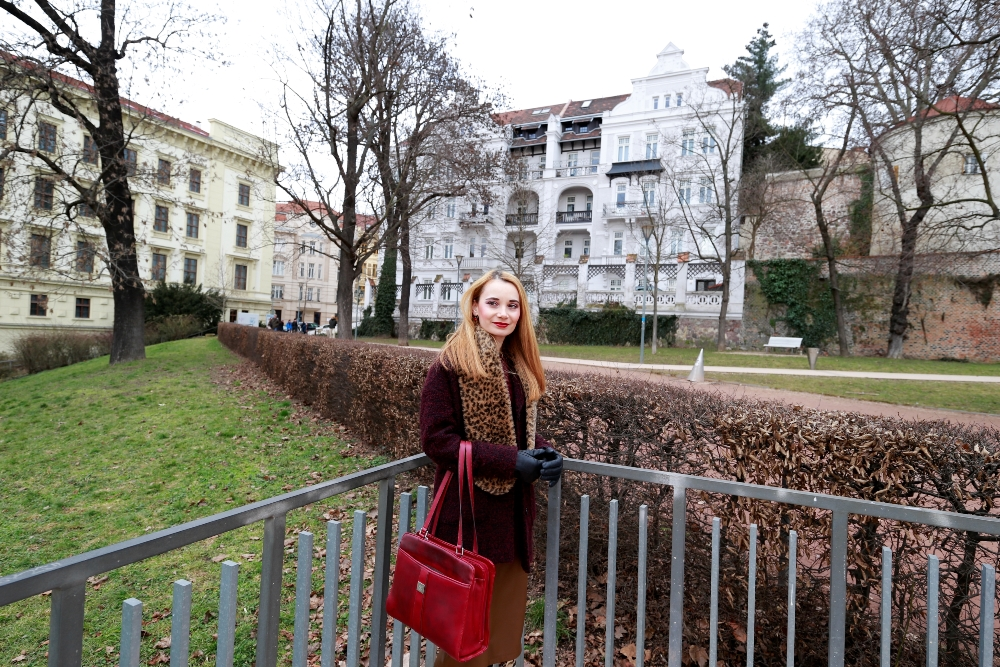 Wine_Red_Bag_Gloves_Brno_Old_City_View