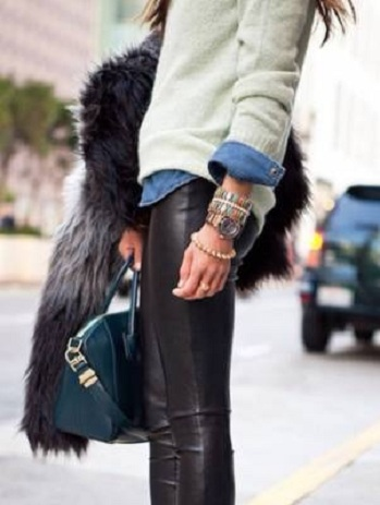 fur-leather-chambray-sweater